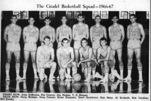 Pat Conroy Citadel Team